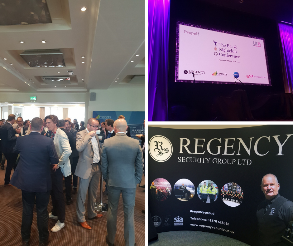 Regency Security at the UKHospitality and Propel Bar and Nightclub conference