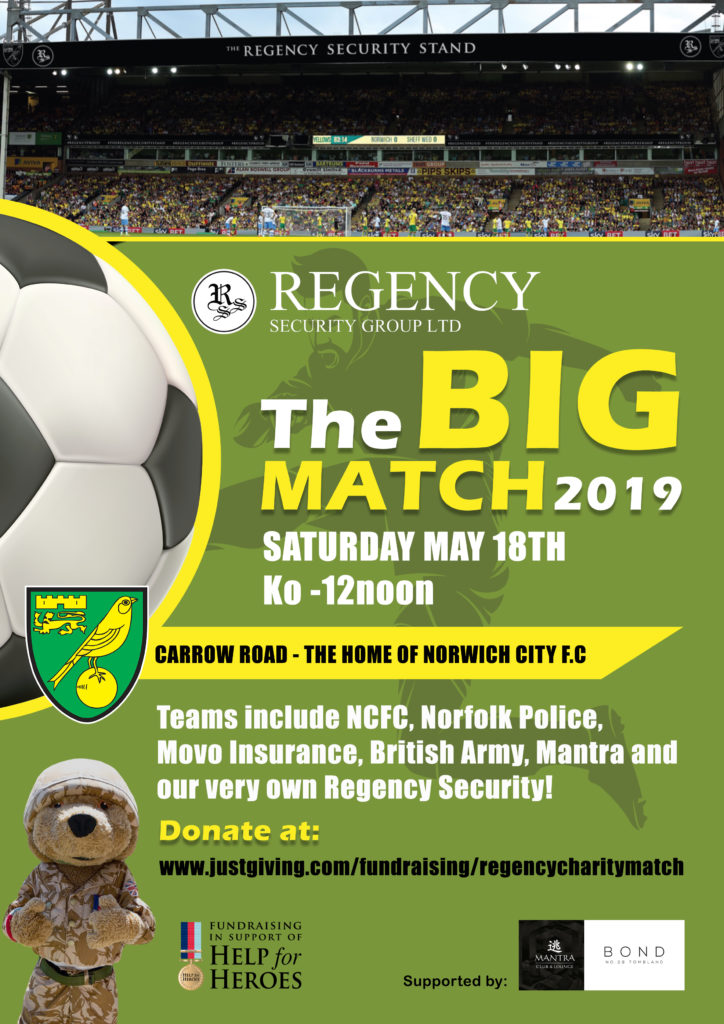 2019 Regency Security Charity Football Tournament