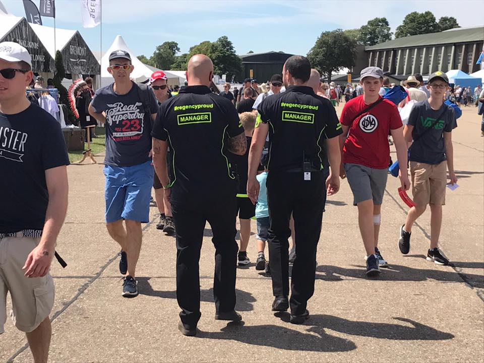 Duxford Renew Airshows With Regency Security