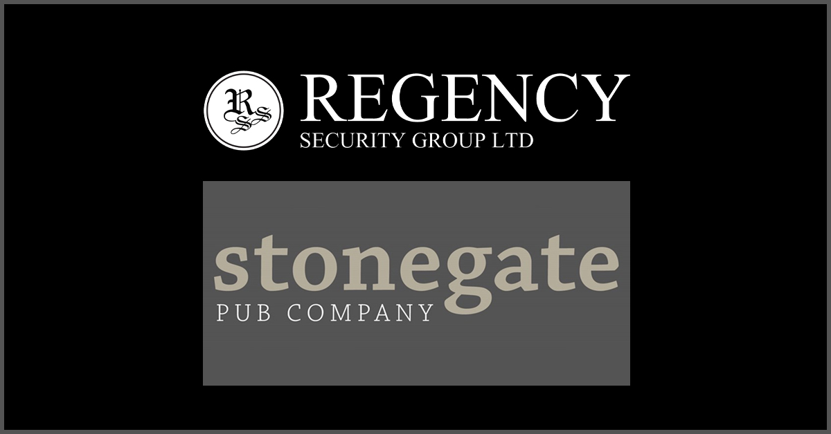 Fifteen Additional Stonegate Venues in London Awarded to Regency Security